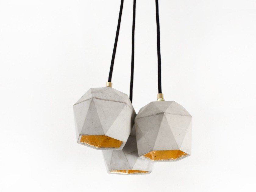 Direct light cement chandelier [T2] BUNDLE by GANTlights