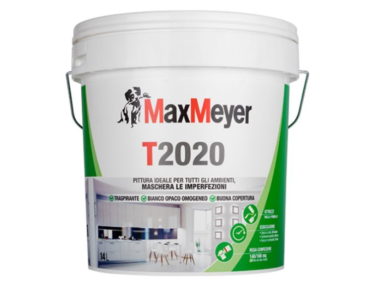 Breathable water-based paint T2020 by MaxMeyer