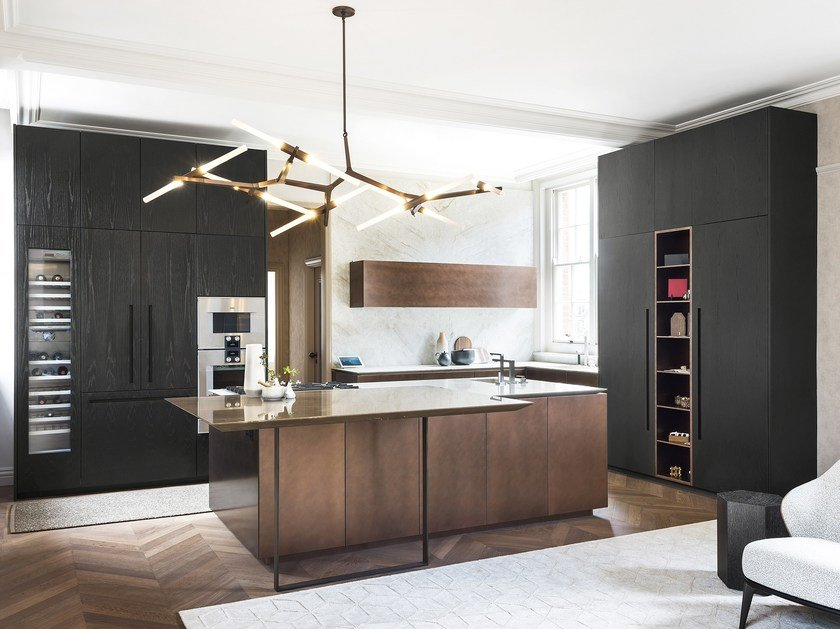 T30 / D90 | Kitchen with island By TM Italia Cucine