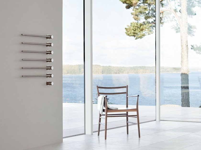 Electric wall-mounted towel warmer T39EL | Towel warmer by VOLA