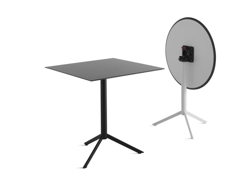 Tavolino Black Leaf x 2