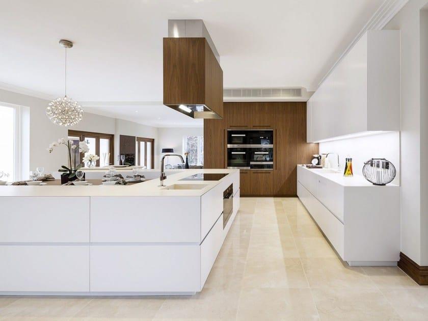 Kitchen with island T45 EVO | Kitchen with island by TM Italia Cucine
