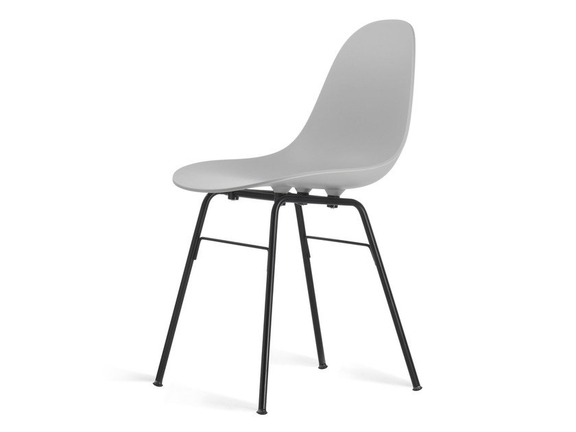 Contemporary style polypropylene chair TA Er Black | Sedia by KUBIKOFF