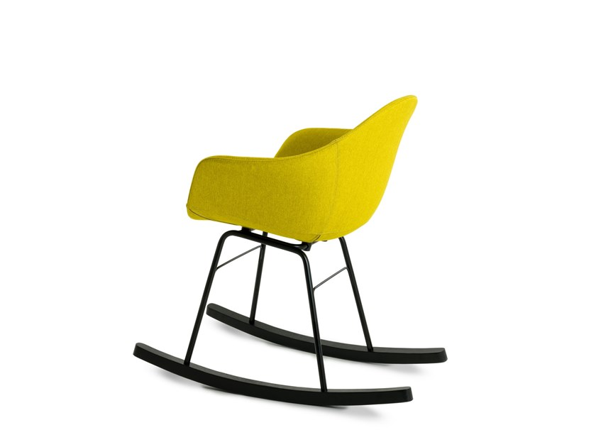 Rocking upholstered chair TA | Rocking chair by TOOU