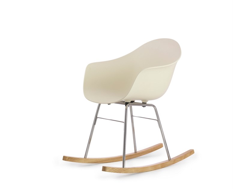 Rocking polypropylene chair TA | Rocking chair by TOOU