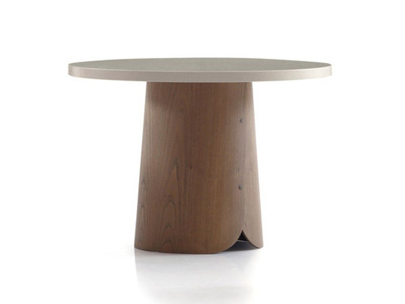 Chestnut coffee table TAB | Coffee table by Sancal