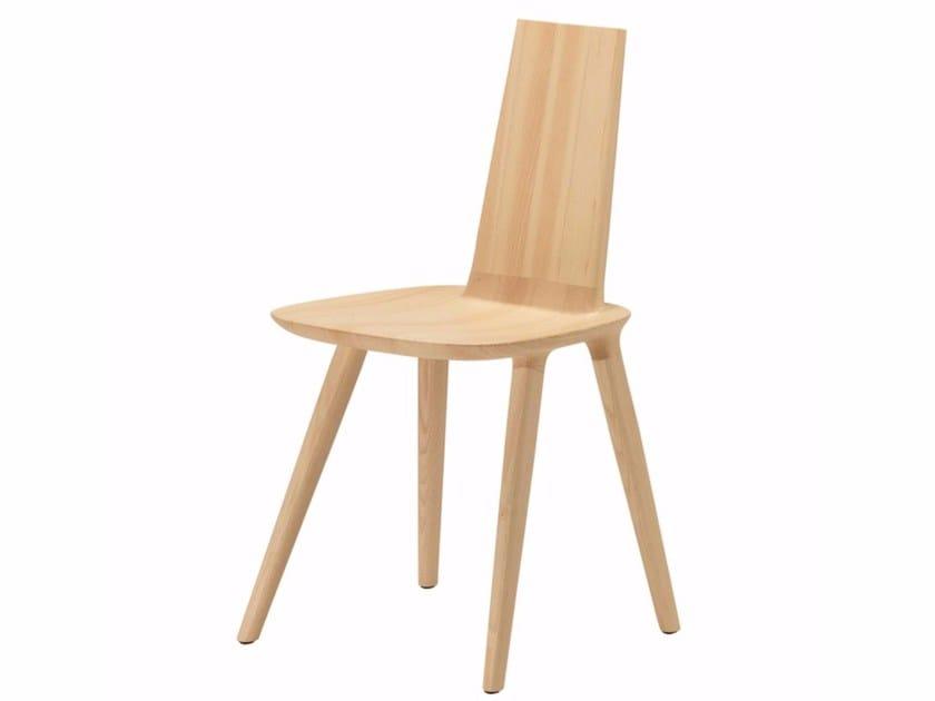 Ash chair TABU FULL BACKREST - 077 by Alias