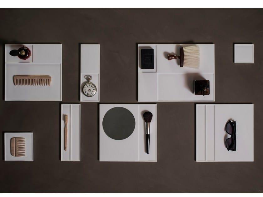 Portaoggetti multiuso in Flumood® TABULA by Antonio Lupi Design