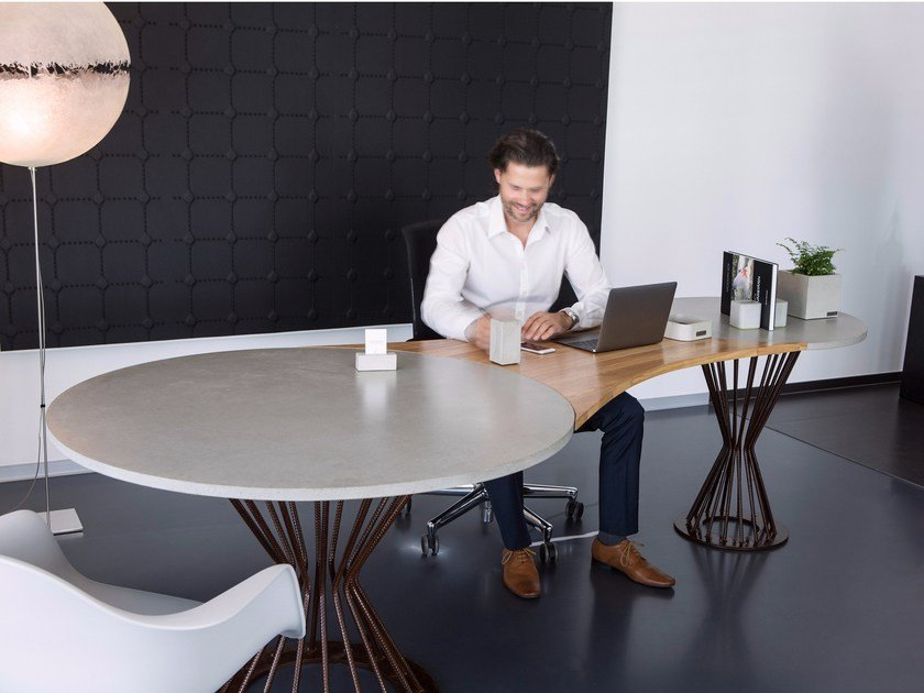 Office desk / meeting table TABULA COSMOS by CO33