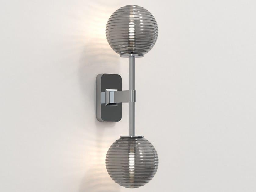 Lampada da parete a LED in zinco per bagno TACOMA TWIN by Astro Lighting