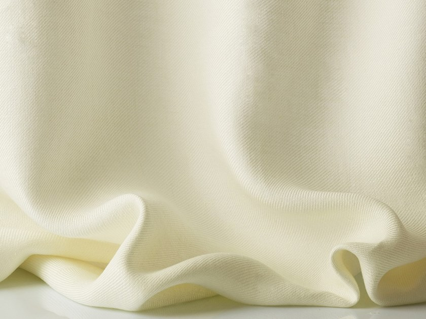 Solid-color linen fabric for curtains TADZIO by Dedar