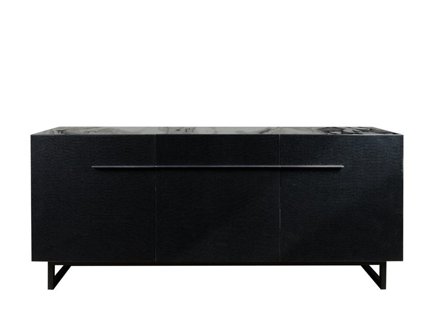 Wooden sideboard with doors TAGO | Sideboard with doors by Garbarino