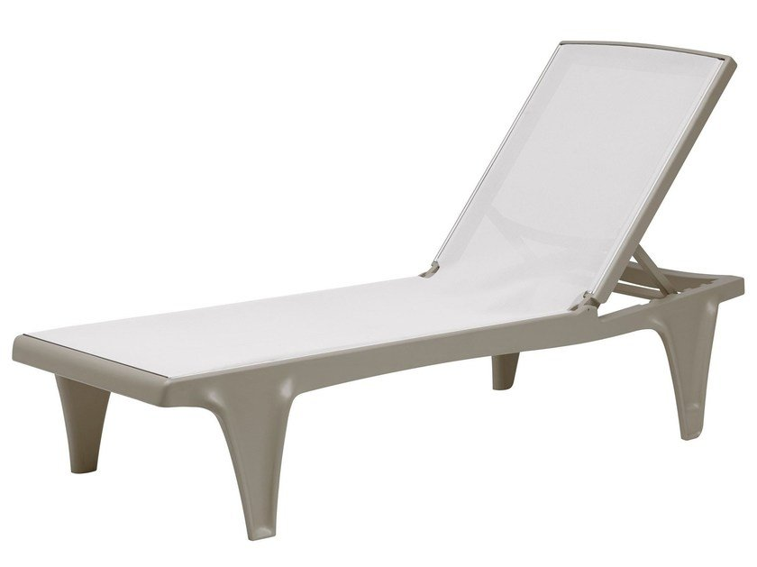 Recliner garden daybed TAHITI by SCAB DESIGN
