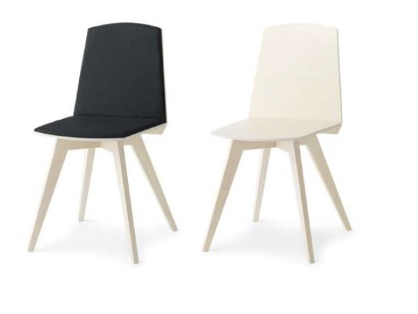 Upholstered chair TAIL HB I by Passoni