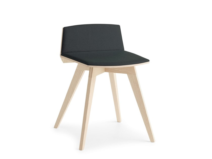 Low upholstered stool TAIL LB I by Passoni