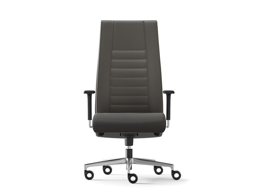 High-back executive chair with 5-spoke base TAIT | High-back executive chair by Arte & D