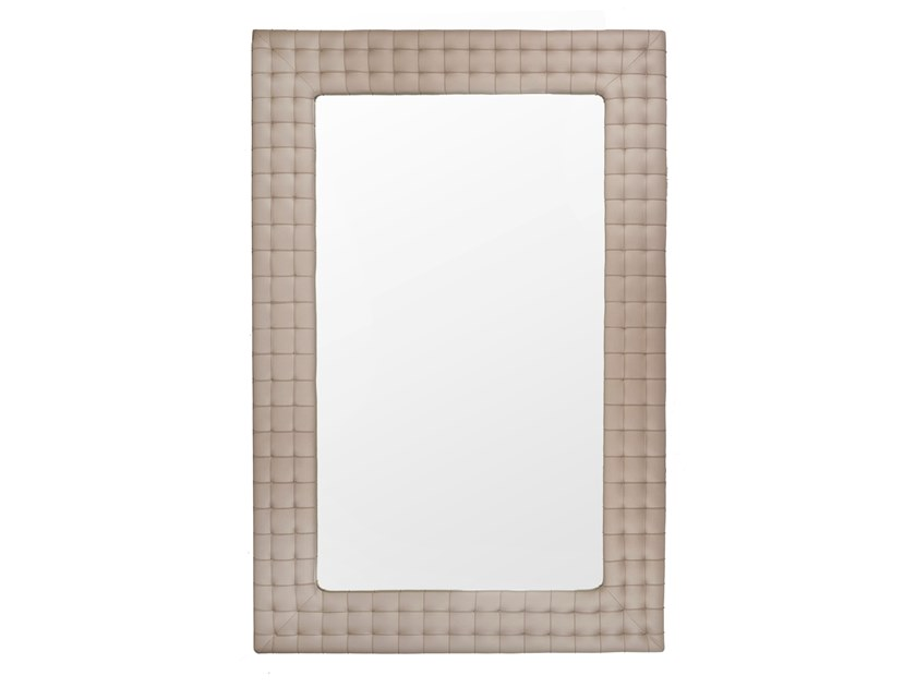 Framed wall-mounted mirror TAKAO by Green Apple