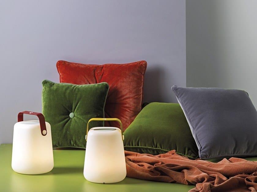 Lampada da tavolo a LED portatile con emissione del suono TAKE AWAY SOUND by Rossini Illuminazione