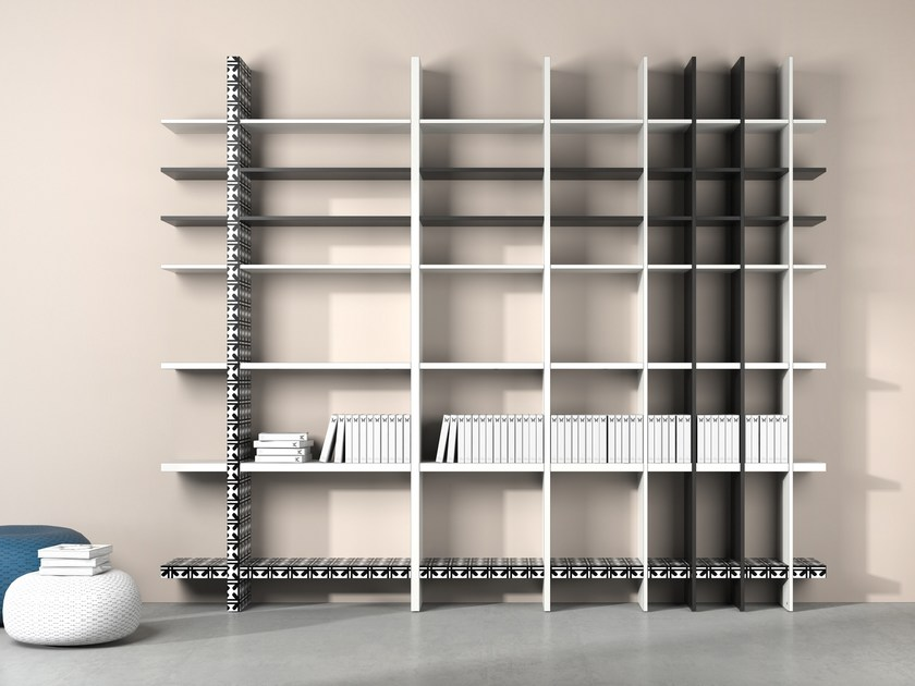 Open bookcase TAKEBOOK by De Rosso