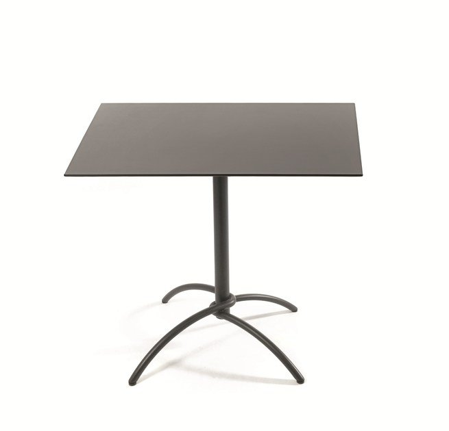 Fischer Moebel taku teak square table taku collection by fischer möbel