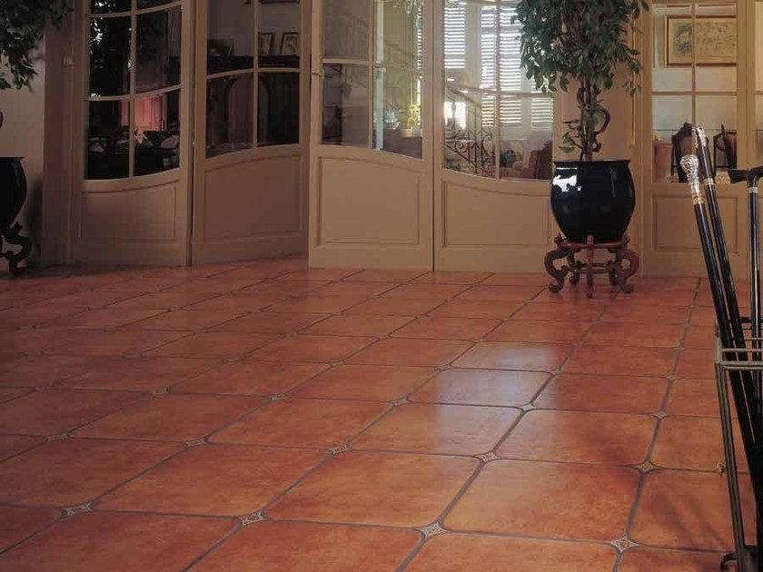 Indoor/outdoor porcelain stoneware flooring TALAVERA by Venis