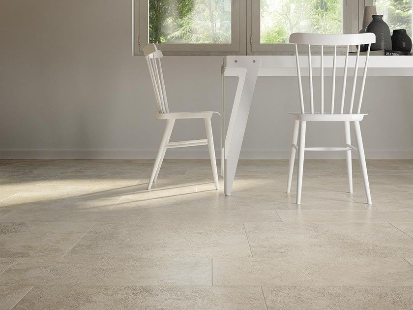 Porcelain stoneware wall/floor tiles with stone effect TALE NAVONA CONTRO by Ceramiche Caesar