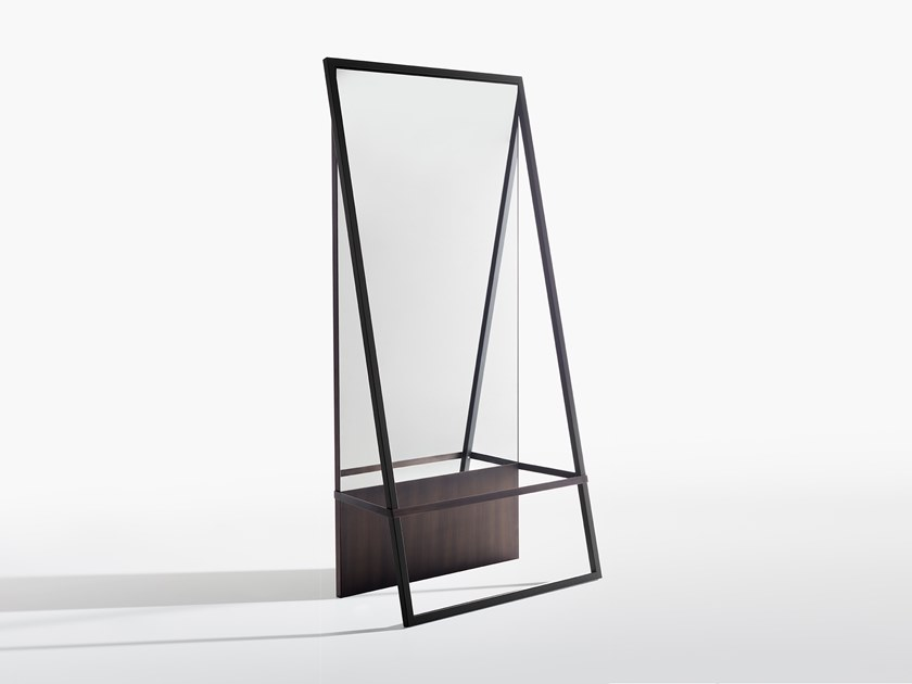 Freestanding rectangular mirror TALE by Potocco