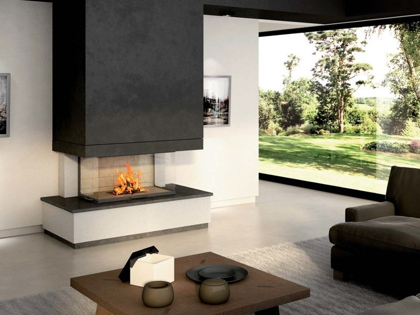 Natural stone Fireplace Mantel TALIA by Axis