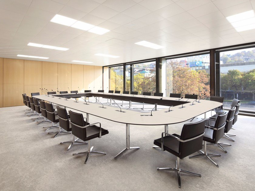 TALK Rectangular Meeting Table By RENZ Design JehsLaub - Rectangular conference room table