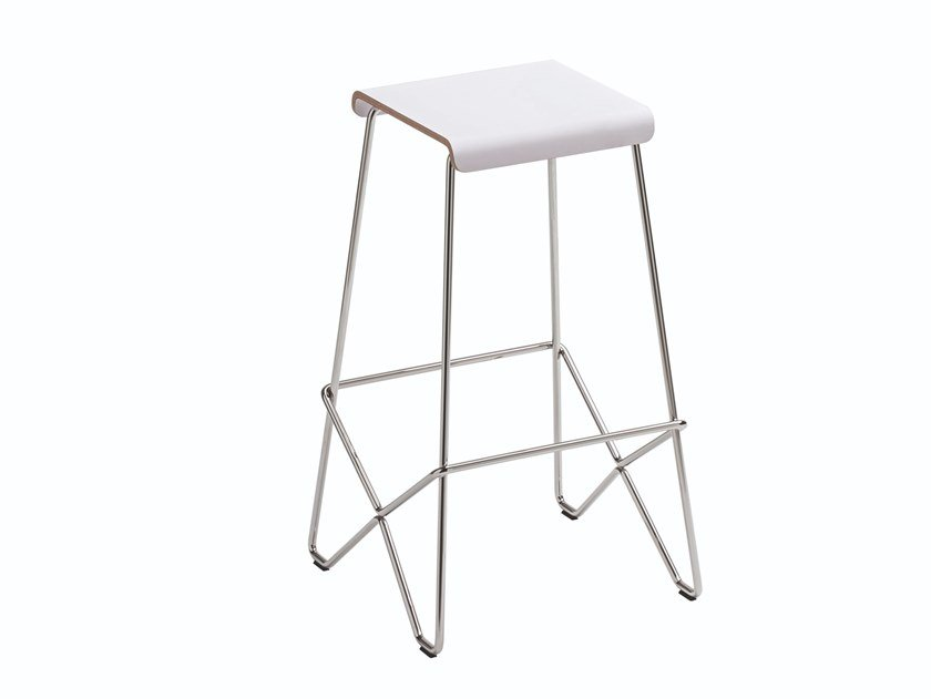 Stool with footrest TALLÒ by Albaplus