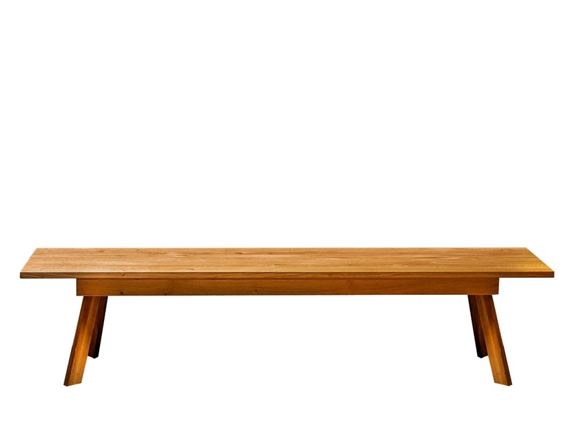 Solid wood bench TALUS | Bench 200cm by designimdorf