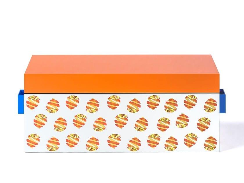 Aluminium storage chest TAMARA by altreforme