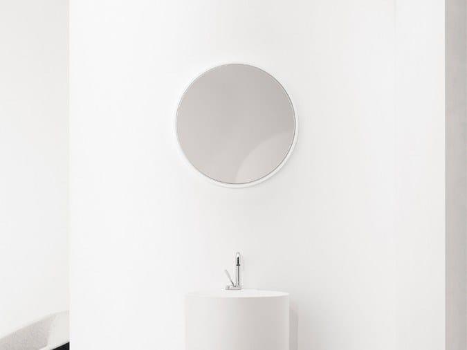 Round wall-mounted bathroom mirror TAMBO | Round mirror by INBANI