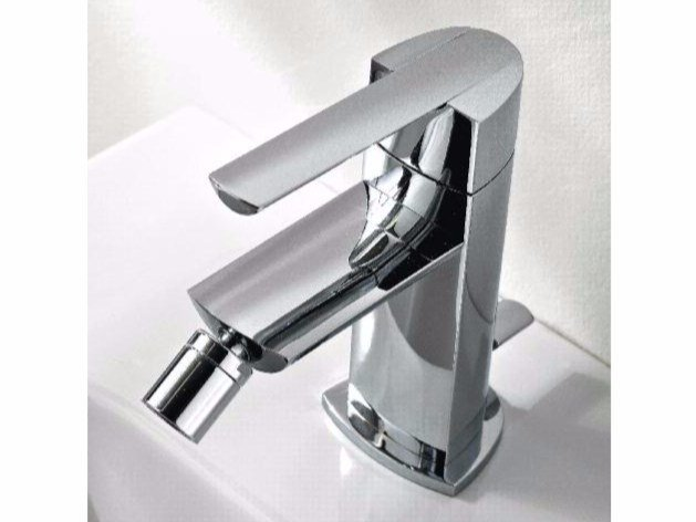 Countertop single handle bidet mixer TANGO | Bidet mixer by ZAZZERI