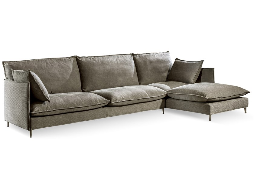 Sectional Sofa With Chaise Longue Tango Easy By Cantori