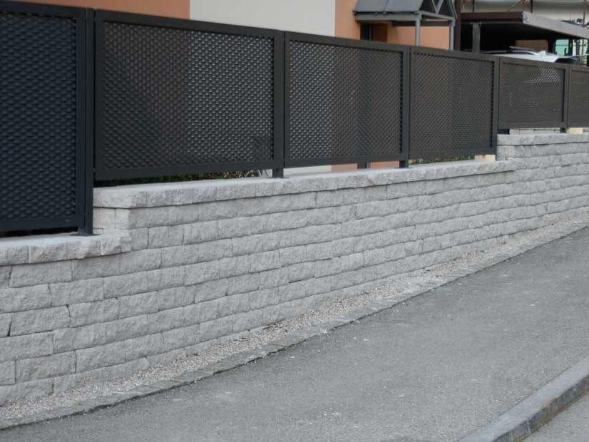 Muro A Secco Per Giardino Tango By Ferrari Bk