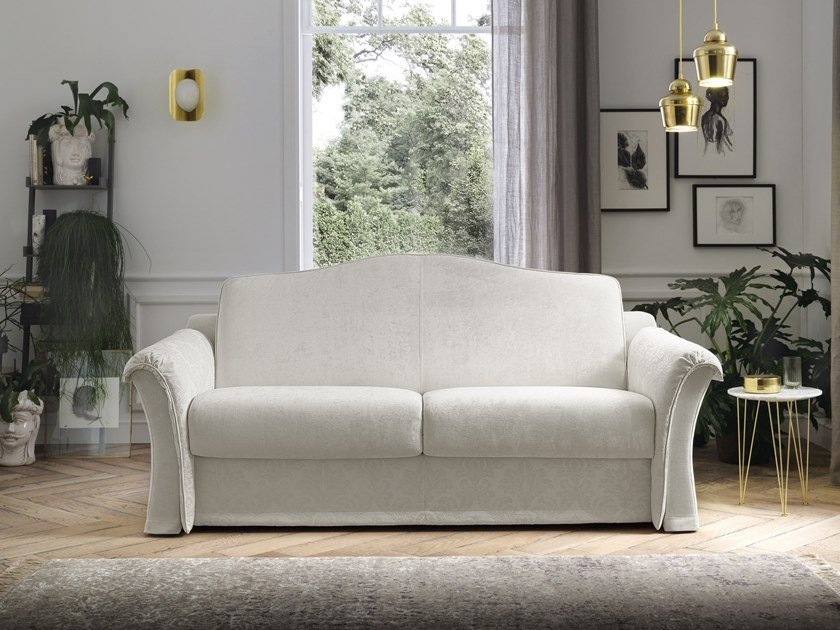 Contemporary style 3 seater upholstered fabric sofa bed TANGO by Felis