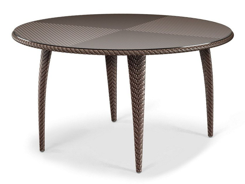 Round garden table TANGO | Dining table by Dedon