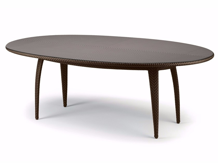 Oval garden table TANGO | Oval table by Dedon