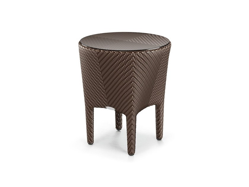 Round Garden Side Table Tango Coffee By Dedon