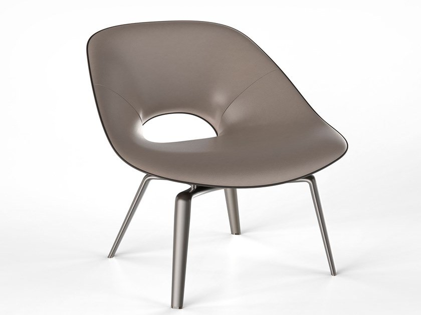 Leather chair TANYA by Visionnaire