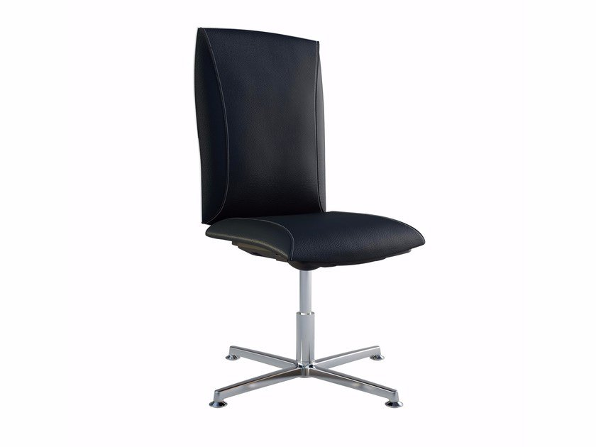 Height-adjustable executive chair with 4-spoke base TAO | Executive chair with 4-spoke base by MASCAGNI