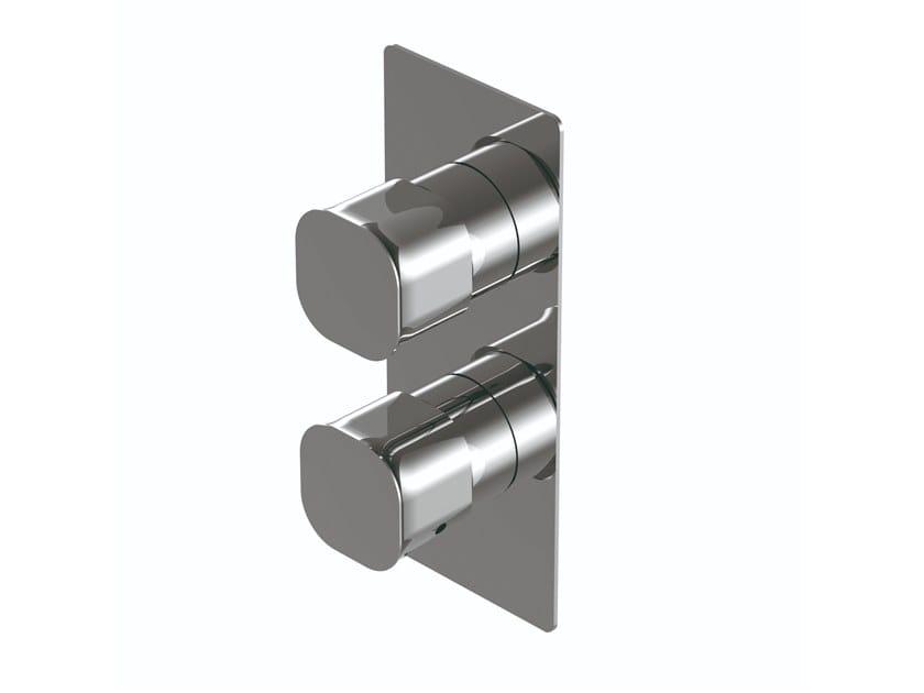 2 hole thermostatic brass shower mixer TAORMINA | 2 hole shower mixer by RITMONIO