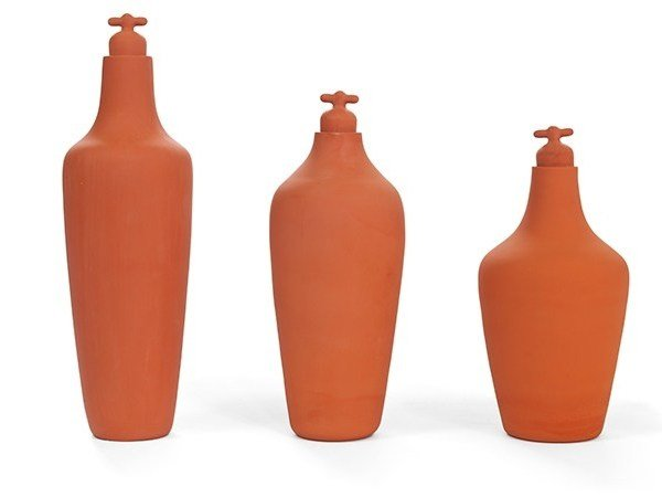 Terracotta bottle TAP WATER CARAFE by Vij5