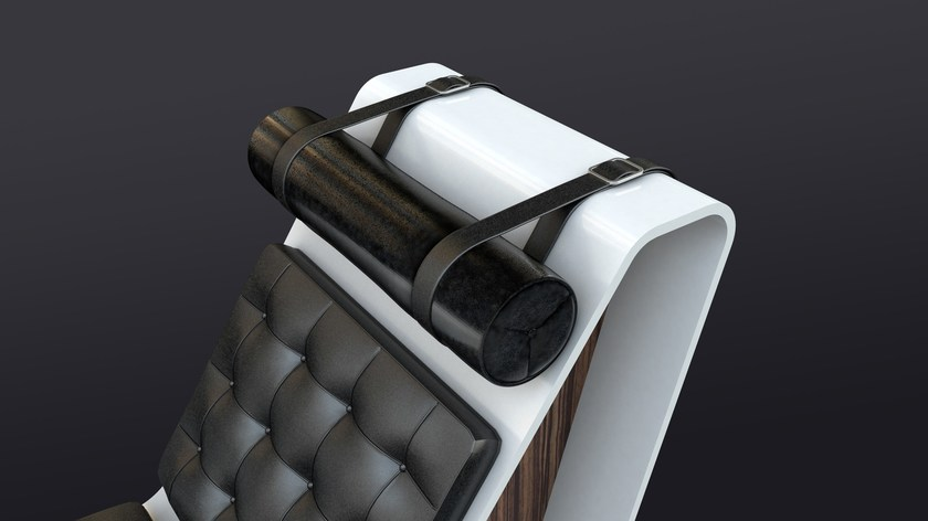 Poggiapiedi Ergonomica Pelle Poggiatesta TapePoltrona Zuri Stile Moderno Design Schienale In Alto Con ynv0Om8PNw