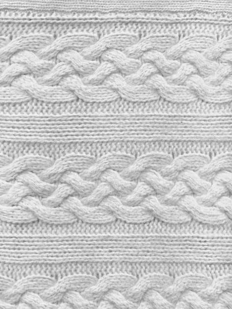 Rectangular velour fabric rug TAPIT - KNOTS by JOKJOR