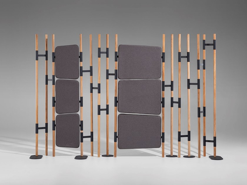 Wooden room divider TARABA by Nunc