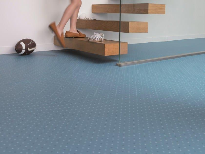 Antibacterial anti-static vinyl flooring TARALAY IMPRESSION COMPACT by gerflor