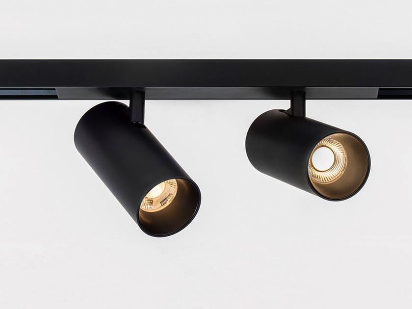 Illuminazione a binario a LED in alluminio verniciato a polvere TARE S2 MAGNETIC by HER