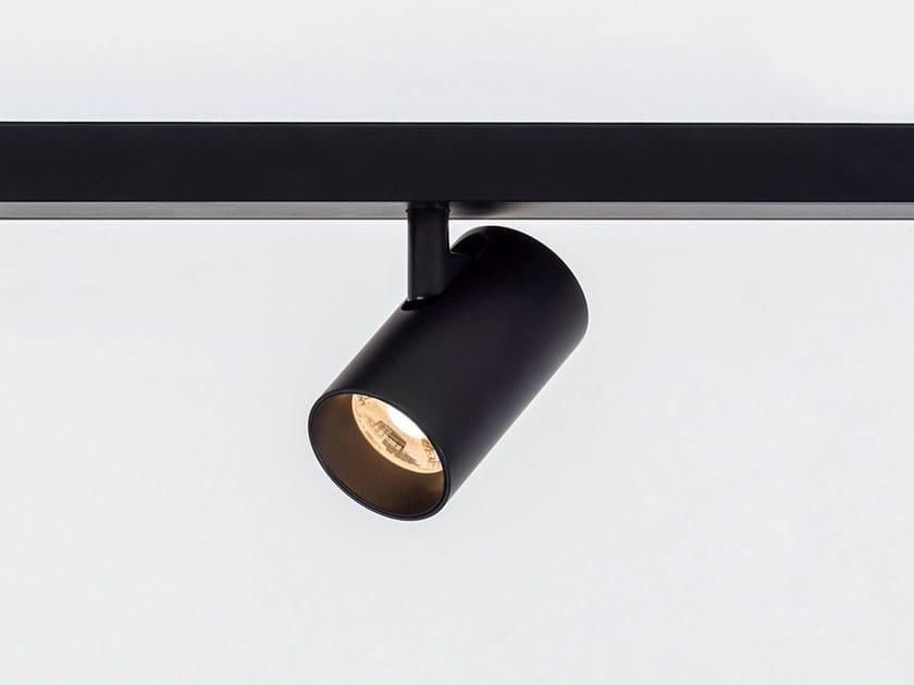 Illuminazione a binario a LED in alluminio verniciato a polvere TARE XS MAGNETIC by HER
